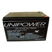 Bateria Unipower UP12120 12V 12AH F250 Nao Automotiva