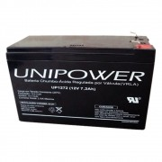 Bateria Unipower UP 1272 12V 7.2AH F187 Nao Automotiva