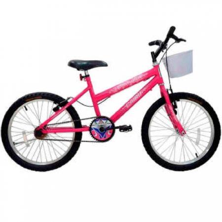 Bicicleta Cairu ARO 20 MTB FEM STAR GIRL - 319700 ROSA/PINK