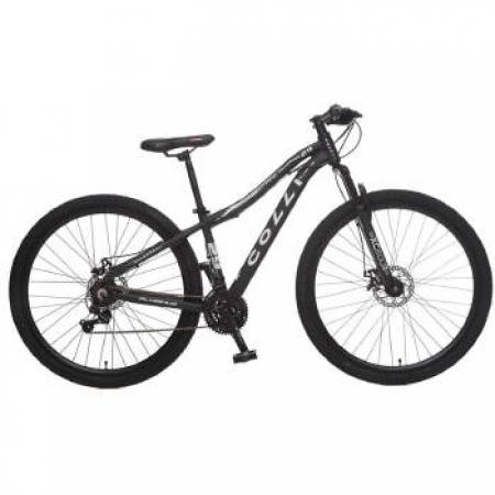 Bicicleta Colli Aluminio A.29 F.D SHIM 21M Q 15.5 - 541-11M Preto Fosco