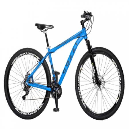 Bicicleta Colli Aluminio ARO 29 Freio a Disco Shimano 21 Marchas  - 531.05 Branco