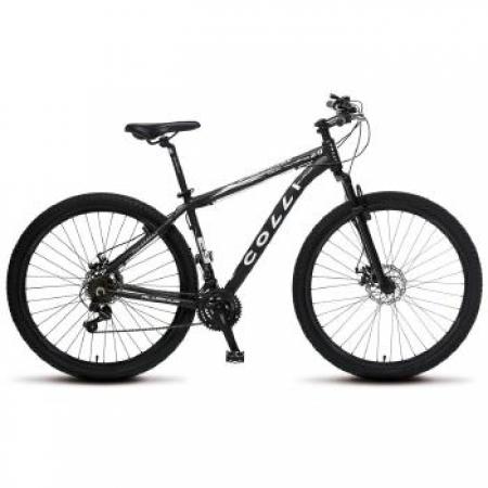 Bicicleta Colli Aluminio ARO 29 Freio a Disco Shimano 21 Marchas  - 531.11 Preto Fosco
