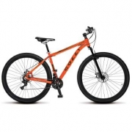 Bicicleta Colli Aluminio ARO 29 Freio a Disco Shimano 21 Marchas  - 531.12M Laranja