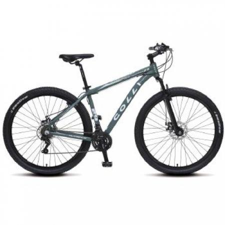 Bicicleta Colli Aluminio ARO 29 Freio a Disco Shimano 21 Marchas  - 531.14 Verde MUSG