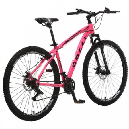 Bicicleta Colli Aluminio ARO 29 Freio a Disco Shimano 21 Marchas  - 531.19 Rosa