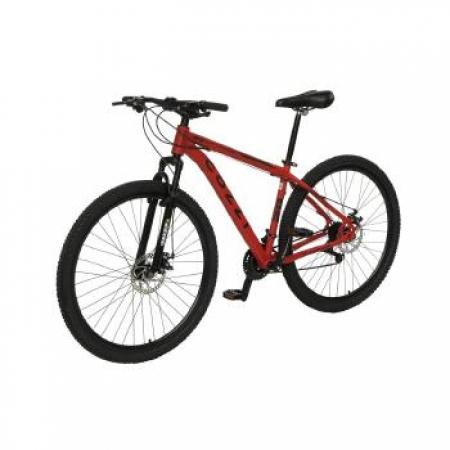 Bicicleta Colli Aluminio ARO 29 Freio a Disco Shimano 21 Marchas  - 531.26M Vermelho