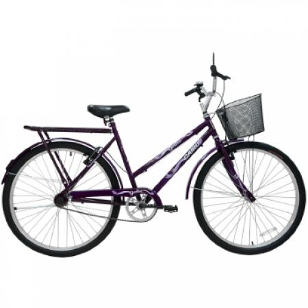 Bicicleta Feminina ARO 26 Genova  - 310131 Roxo