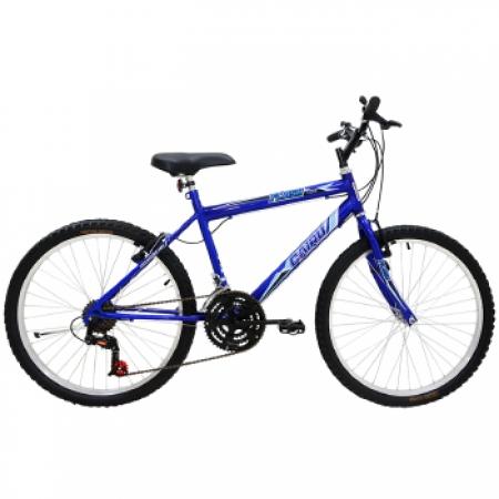 Bicicleta Masculina ARO 26 21 Marchas FLASH POP Bike - 310918 AZUL