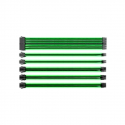 Cable TT MOD Sleeved CABLE/BLACK&GREEN/300MM/COMBO PACK AC-034CN1NANA1
