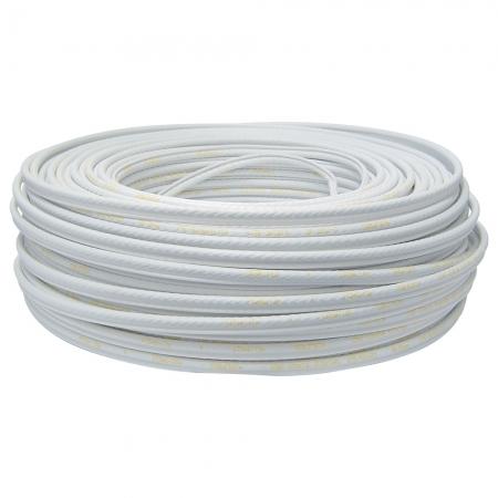 Cabo Coaxial Cabletech RGC-59 90% Branco - 100 Metros 801219000P00CB12