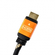 Cabo HDMI EVUS3,0M V2.0 4K Ouro M/ M C-050 6,5MM