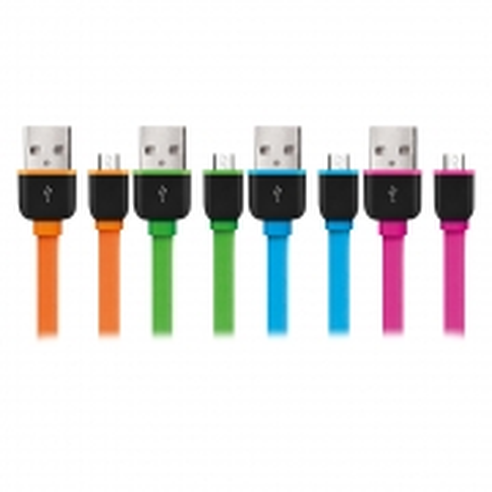 Cabo Micro USB Multilaser Smarto GO 5 PIN Sortido WI298