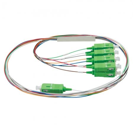 Cabo Optico Splitter Intelbras XFS182 PLC 1X8 Scomapc 4830025