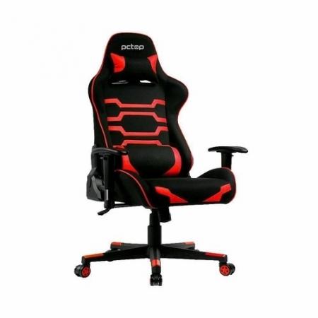 Cadeira Gamer PCTOP Preta e Vermelha - X-2555