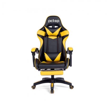 Cadeira Gamer PCTOP Racer Amarela - 1006