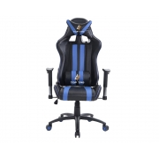 Cadeira Gamer TOP TAG Giratoria AZUL (HS9206BLI)