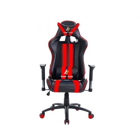 Cadeira Gamer TOP TAG Giratoria Vermelha (HS9206RDI)