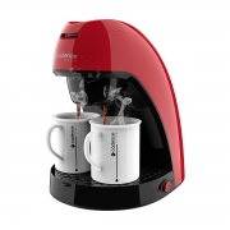 Cafeteira Single Colors Vermelha CAF211 220V