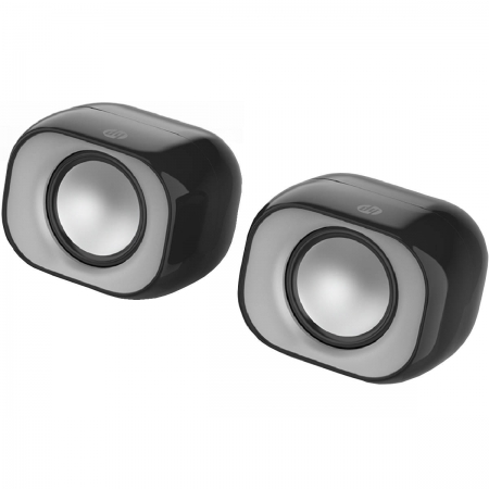 Caixa de Som 2X3W Speaker 2.0 DHS-2111 Preta