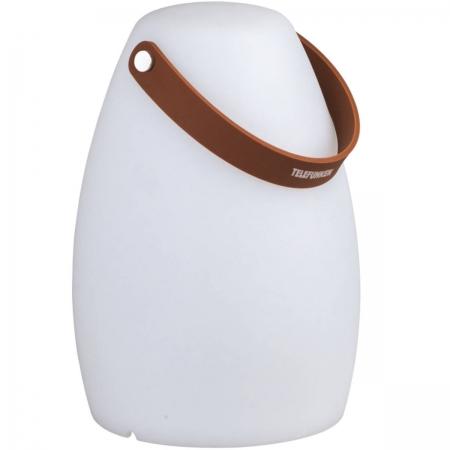 Caixa de Som Ativa Impermeavel Portatil Pool Speaker 8 Cores de LED com Controle Remoto