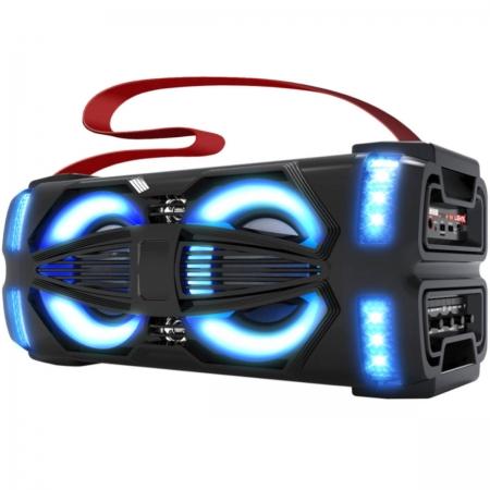 Caixa de Som Ativa Portatil 300W LIGHT-X BLUETOOTH/USB/MICRO SD