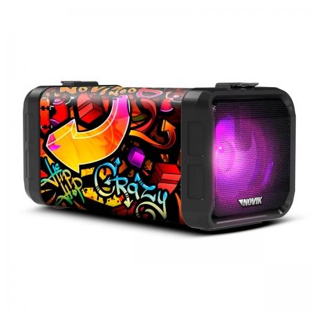 Caixa de Som BLUETOOTH/USB/SD 120W com Bateria Neo Adventure 5