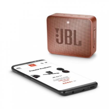 Caixa de Som GO2 JBL 3W Bluetooth - 28910943 Cinnamon