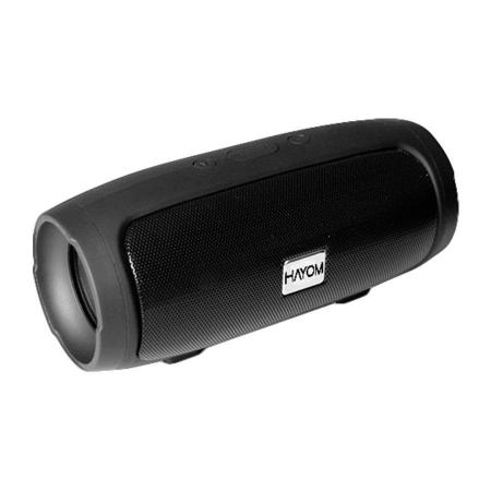Caixa de Som Hayom Portatil Bluetooth 5.0 Cartao SD FM 3W Preto - CP2706