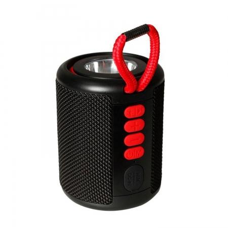 Caixa de Som Hayom Portatil Bluetooth 5.0 IPX5 5W Lanterna a Prova de Jatos Dagua PRETO- CP2704