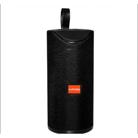 Caixa de Som Hayom Portatil Bluetooth 5.0 Micro SD FM 3W Preto - CP2705