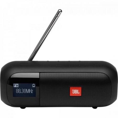 Caixa de Som Portatil Bluetooth Tuner 2 FM Preta JBL