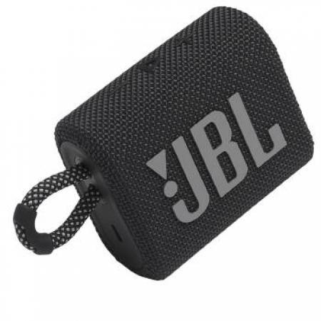 Caixa de Som Portatil JBL GO3 com Bluetooth - 28913273 Preto Bivolt
