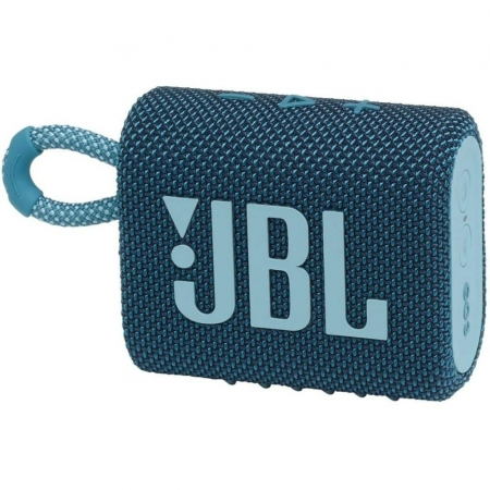 Caixa de Som Portatil JBL GO3 com Bluetooth - 28913274 AZUL Bivolt