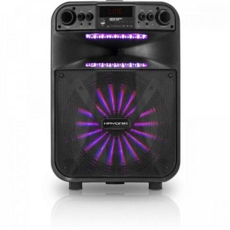 Caixa Multiuso Portatil BLUETOOTH/MICROSD/USB/FM 200W Go!power 300