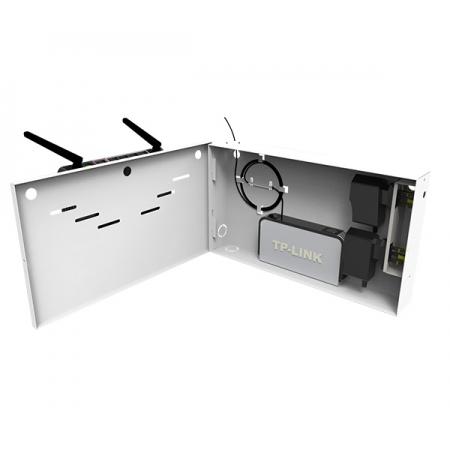 Caixa Organizadora de Equipamentos COR Preta S/ Suporte Bateria 9.12.002