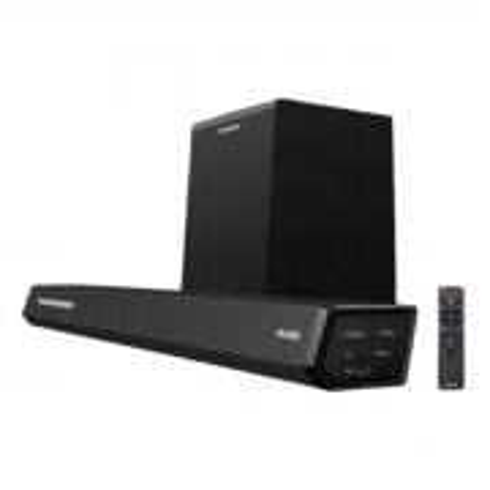 Caixa Soundbar e Wireless Subwoofer 2.1 Audio SYSTEM Cinema BT 350W Polaris 900