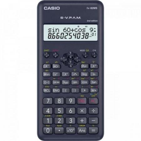 Calculadora Cientifica 240 Funcoes FX-82MS-2-S4-DH Casio