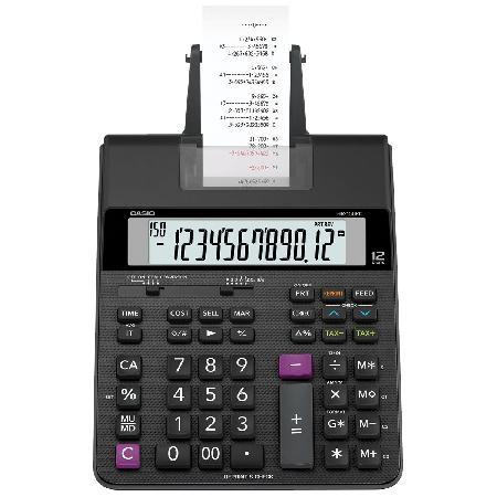 Calculadora com Bobina, 2 Cores de Impressa?o, 2.0 Linha, HR-150RC-B-DC Preta