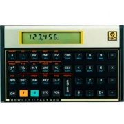 Calculadora Financeira HP 12C GOLD - F2230A Preto