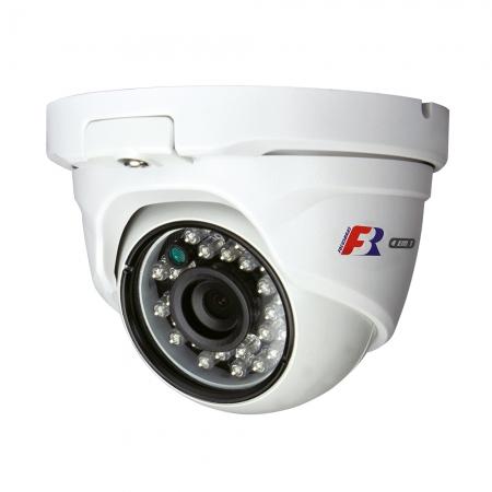 Camera Dome FBR Metal IR25 2 Megapixels 2.8MM CVI TVI AHD CVBS IP66