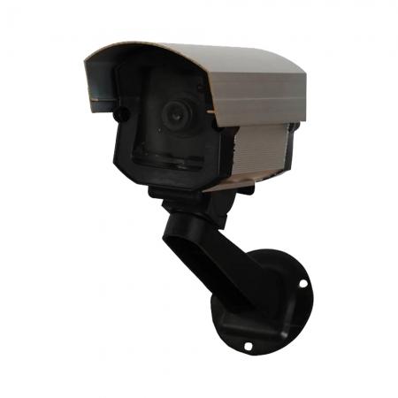 Camera Falsa de Segurança Micro BABY com LED Aluminio