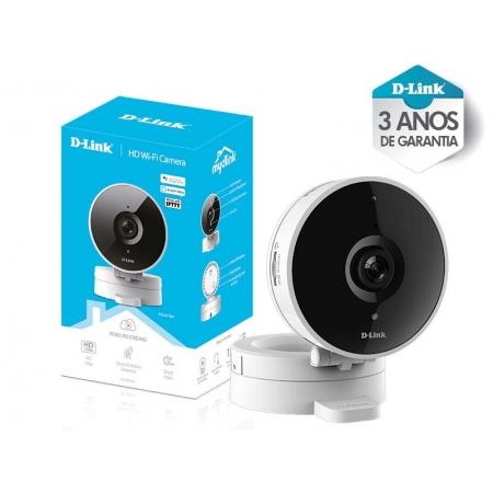Camera HD WI-FI D-LINK DCS-8010LH - Branco