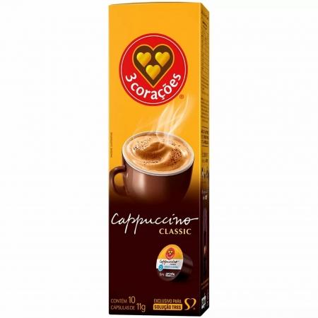 Capsula de Cafe TRES Coracoes Cappuccino 10UND - 12154009