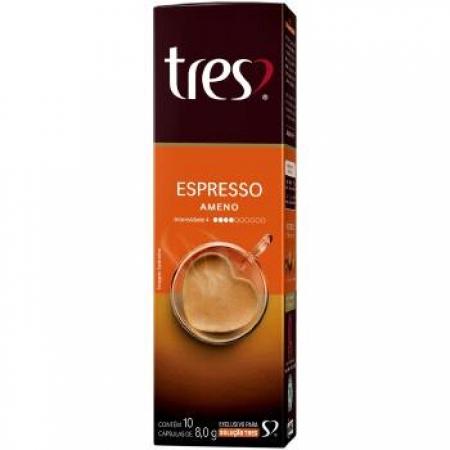 Capsula de Cafe TRES Coracoes Espresso Ameno 10UND - 12151009