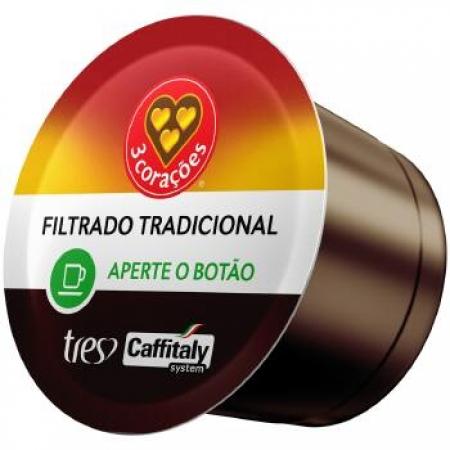 Capsula de Cafe TRES Coracoes Filtrado TRAD 10UND - 12151064