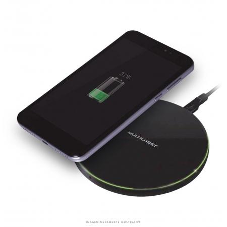 Carregador Concept Wireless ULTRA Rapido 10W Android e iPhone Preto CB130