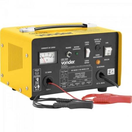 Carregador de Bateria 127V CBV950 Amarela Vonder