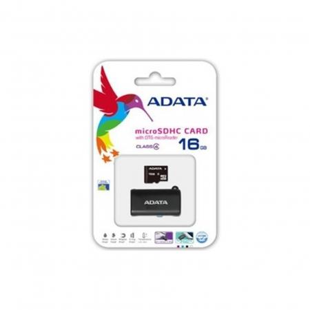 Cartao de Memoria ADATA AUSDH16GUICL10 16GB Microsdhc