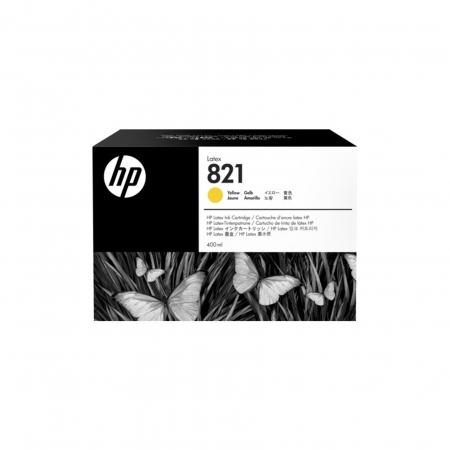 Cartucho Amarelo HP Latex 821 - 400 ML - G0Y88A