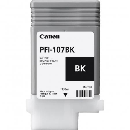 Cartucho de Tinta Canon PFI-107 BK-130ML (5PCS)- 6705B003AA